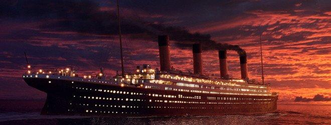Титаник на воде