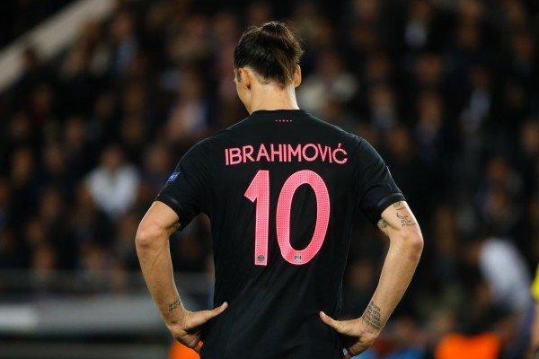 Златан Ибрагимович в футболке