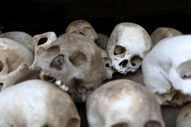 Человеческие черепа