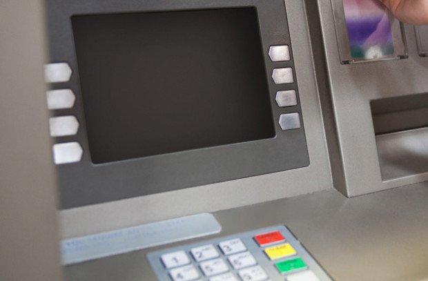 Дисплей банкомата