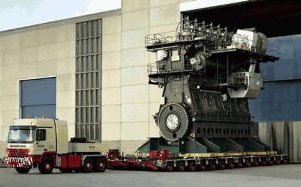 Двигатель Wartsila-Sulzer RTA96C