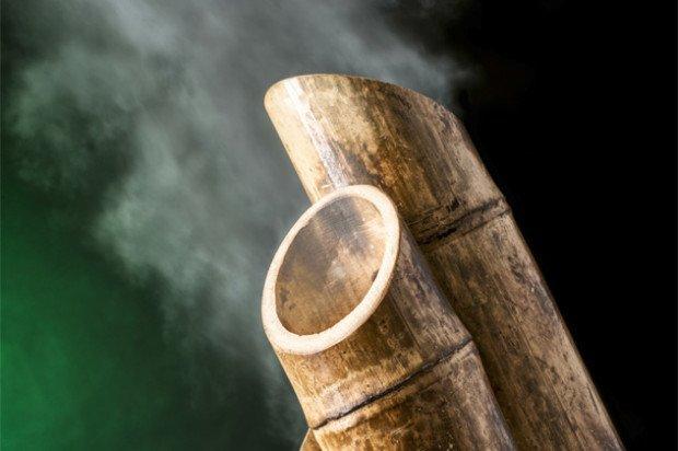 Дым из бамбукового стебля (донохи)