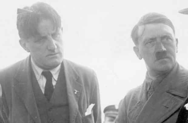Эрнст Ханфштенгль и Адольф Гитлер