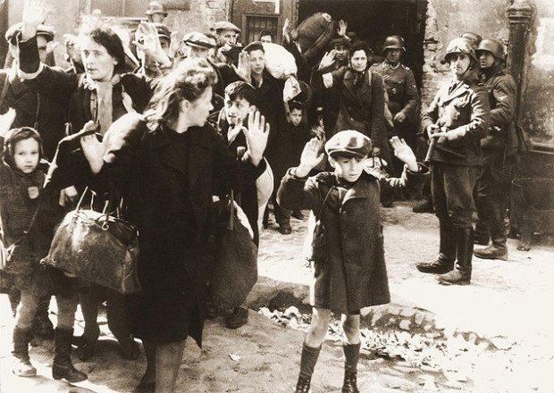 Еврейский мальчик из Варшавского гетто