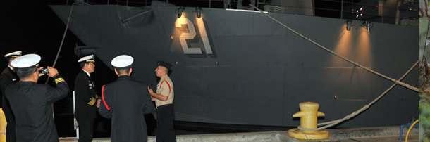Копия судна, используемая для проверки навыков новичков американского ВМФ