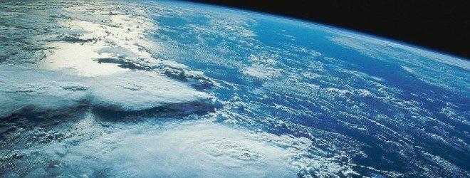 Поверхность Земли из космоса