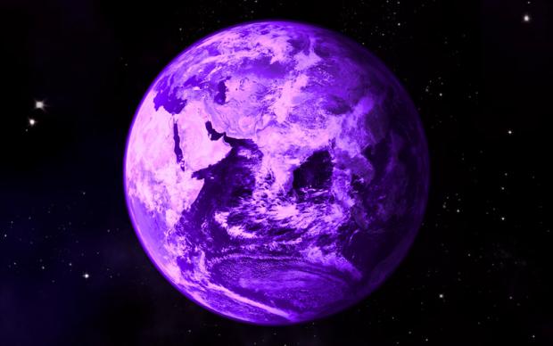 Пурпурная Земля (компьютерная графика)