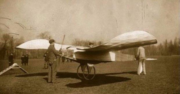 Необычный самолёт начала ХХ века