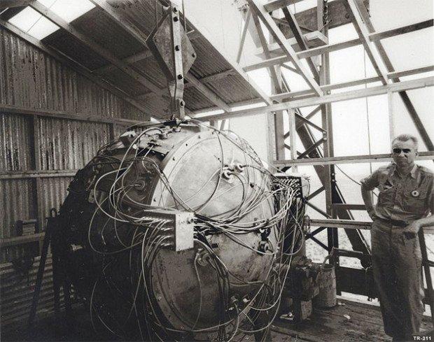 «Штучка» - первая взорванная ядерная бомба в истории