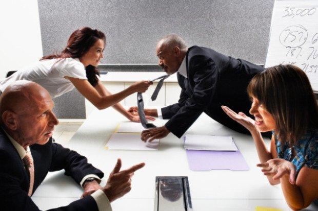 Спор на деловых переговорах