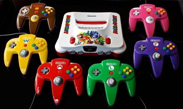 Джойстики для мини-игры Mario Party