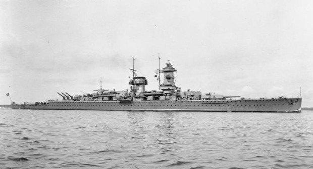 Тяжёлый крейсер Admiral Graf Spee