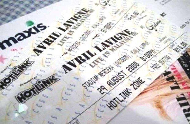 Билеты на концерт Аврил Лавин