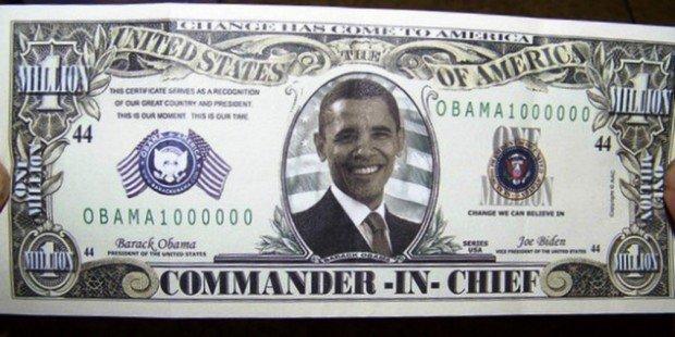 Фальшивая банкнота номиналом в 1 миллион долларов