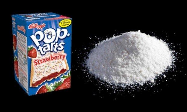 Печенье Pop Tarts с клубничным вкусом