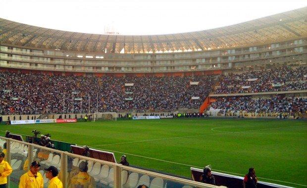 Национальный стадион в городе Лима
