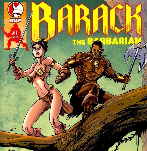 Барак Обама на обложке комикса