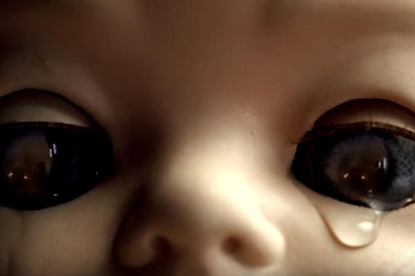 Кукла-младенец из рекламы Sony Playstation 3