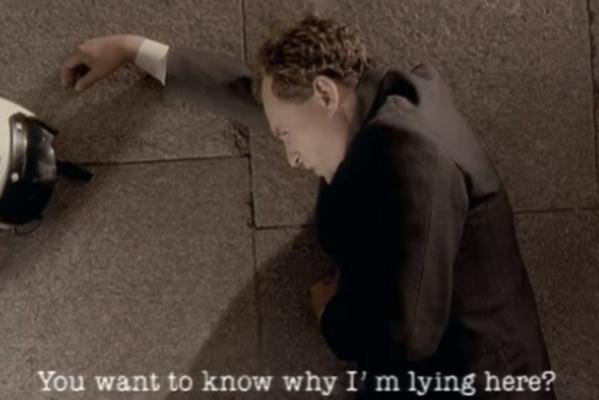 Мужчина из клипа на песню «Just»