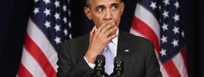 Озадаченный Барак Обама