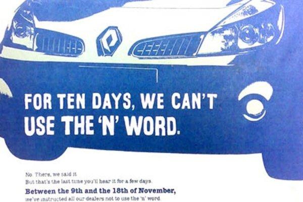 Реклама автомобилей Renault
