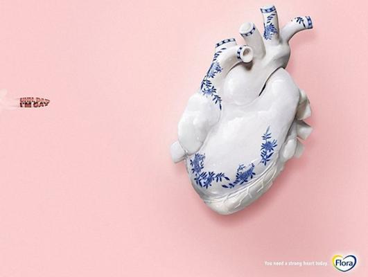 Реклама маргарина Flora