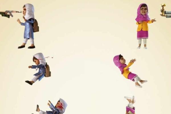 Реклама матрацев с террористами и раненой девочкой