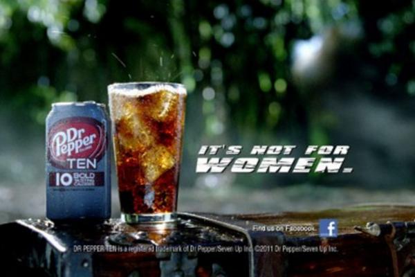 Реклама напитка Dr. Pepper