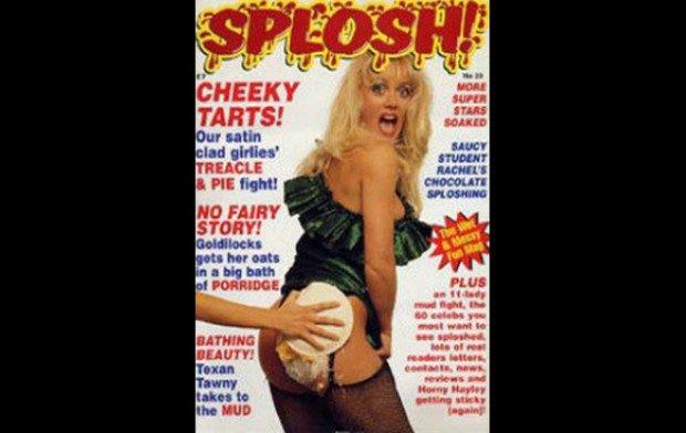 Супруга редактора на обложке Splosh!