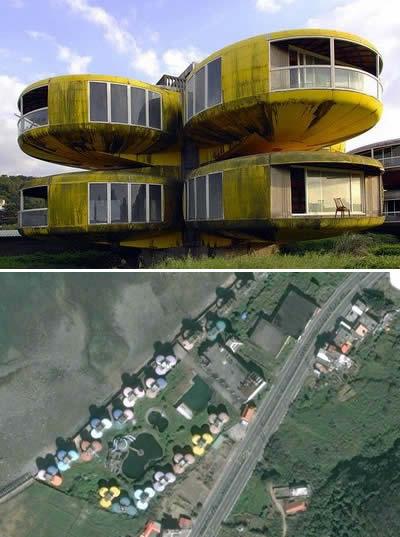 Диковинные дома