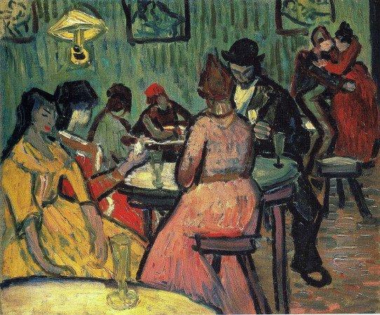 «Бордель», Винсент Ван Гог, 1888 год