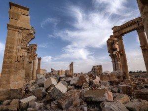 пальмира уничтоженная