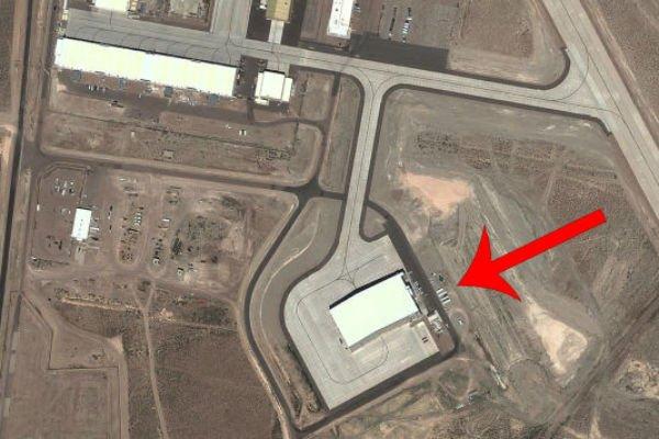 Снимок Зоны 51 со спутника