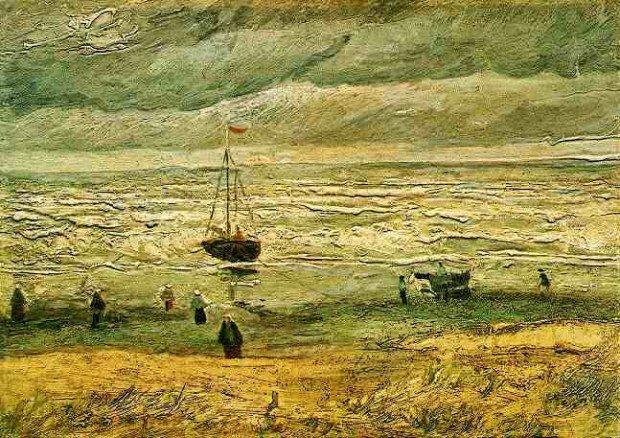 «Вид на море в Схевенингене», Винсент Ван Гог