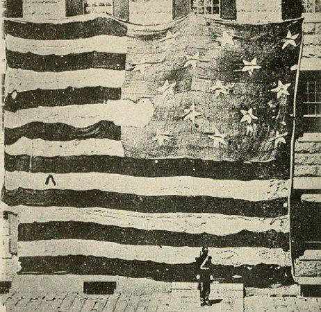 Знамя, усыпанное звездами