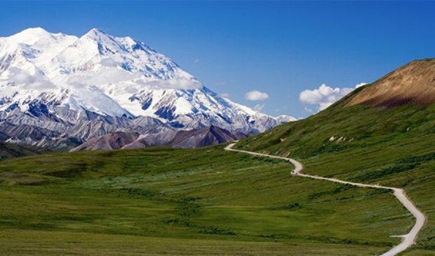 Аляска и её горные вершины