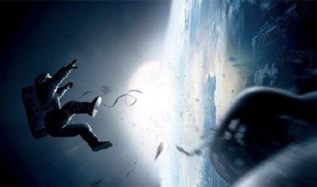 Кадр из раскадровки к фильму «Гравитация»