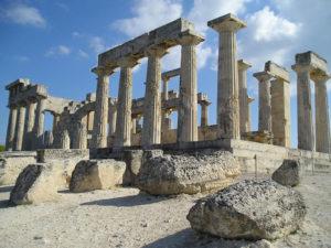 Руины Древней Греции