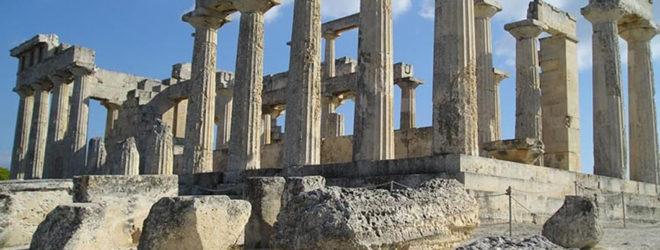 10 неудавшихся романов из древнегреческих мифов. Руины Древней Греции
