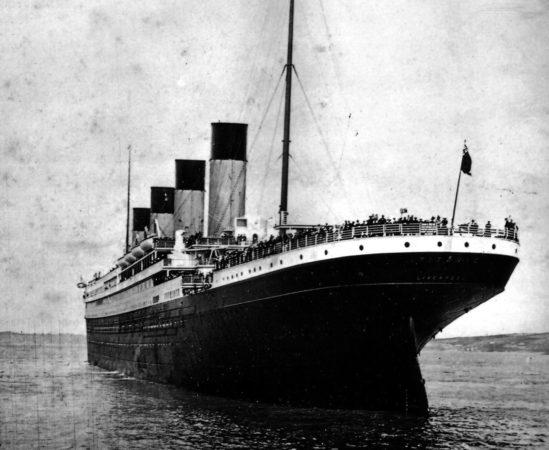Титаник, 1912 год