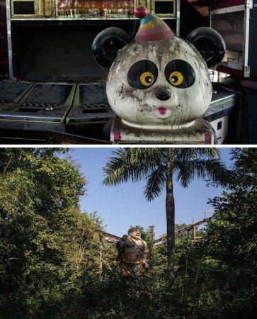 Заброшенные парки развлечений. Счастливый мир