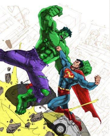 халк супермен