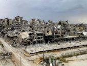 Разрушенный город Хомс в Сирии