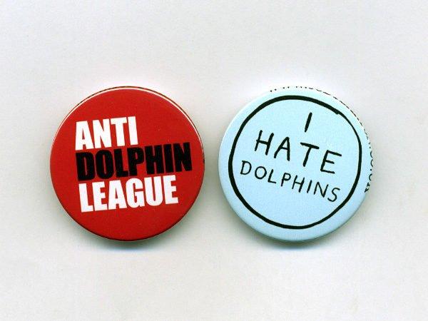 Значки сообщества «Анти-дельфин»