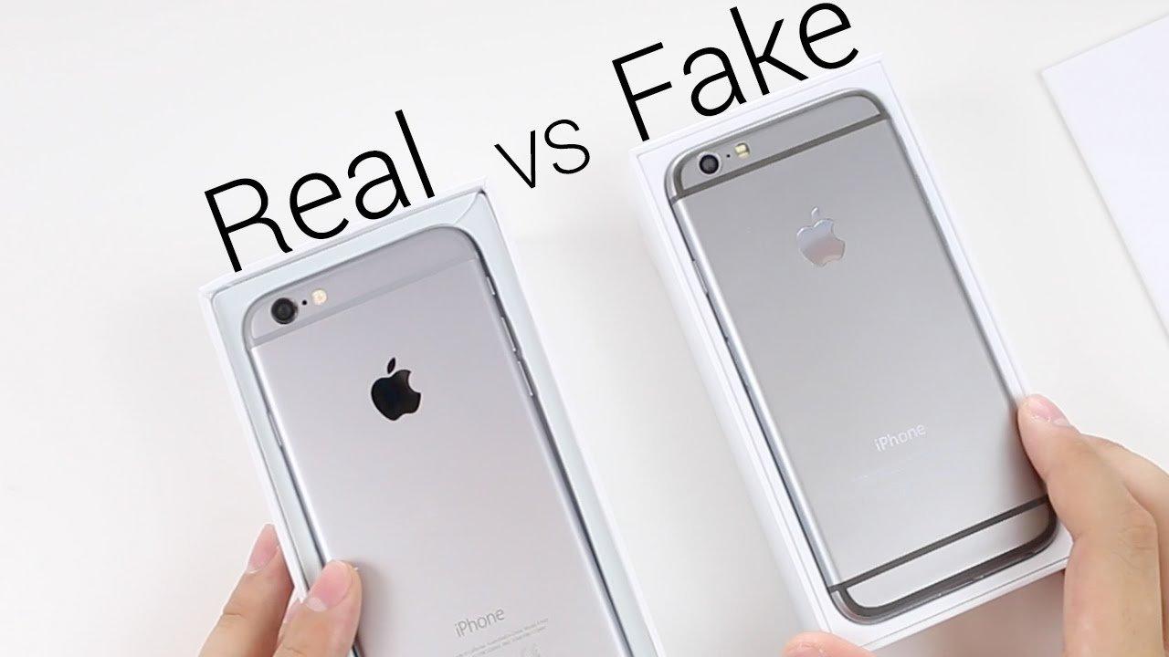 Отличаем оригинальный iPhone от поддельного
