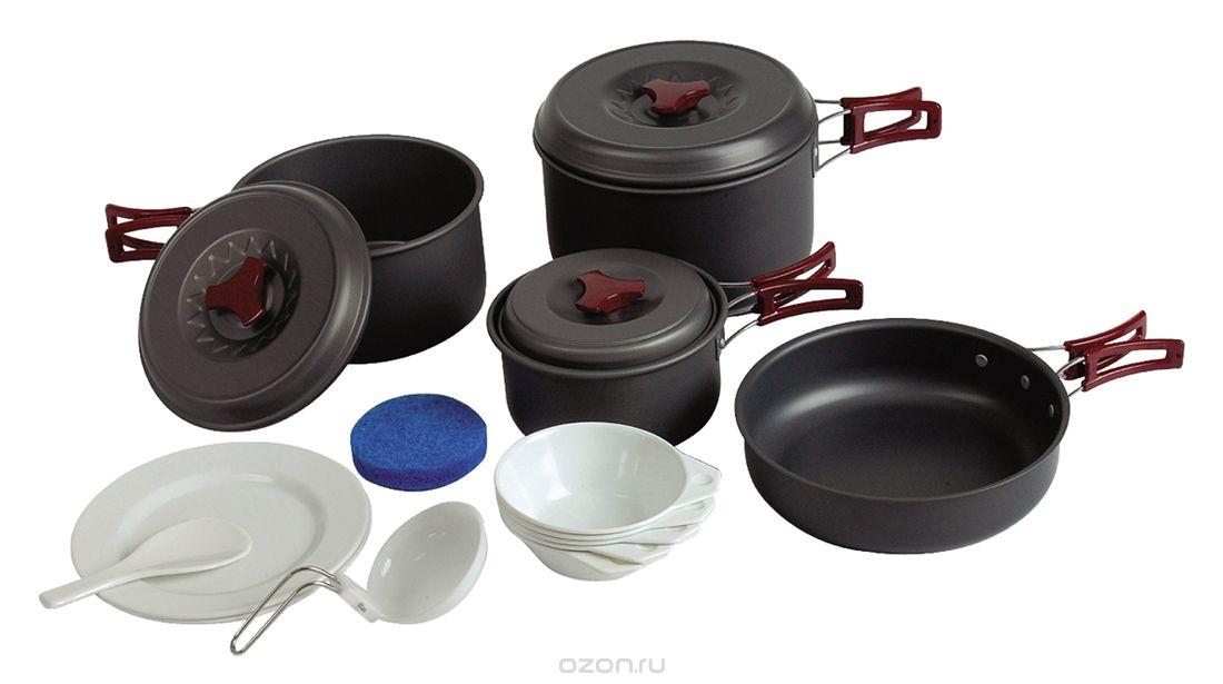 Материалы, используемые при производстве туристической посуды