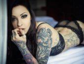 Трудно ли свести татуировку с тела?