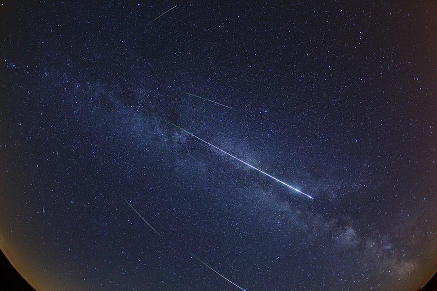 5 любопытных фактов о падающих звёздах, которые вы не знали