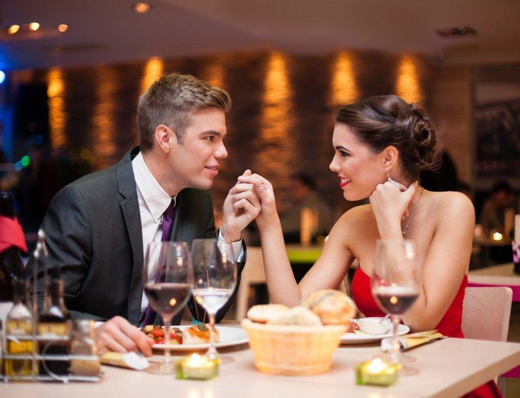 Ресторан для первого свидания