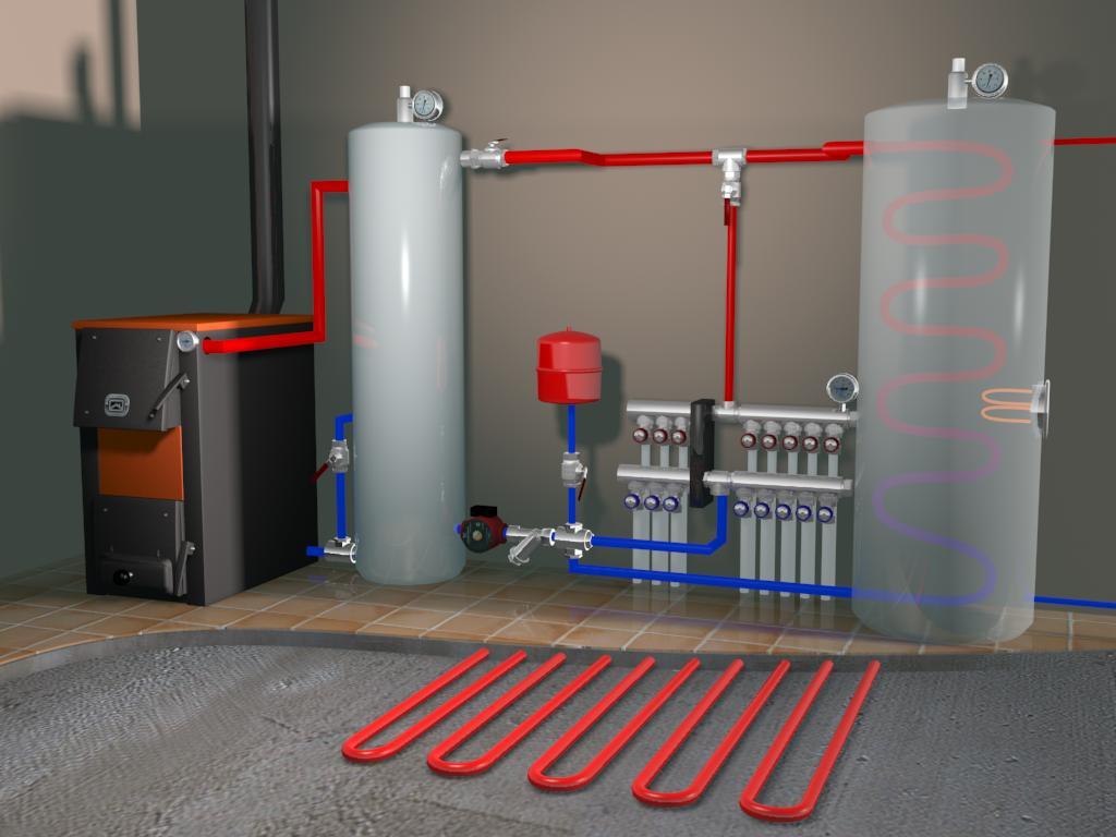 Выбор и монтаж системы отопления
